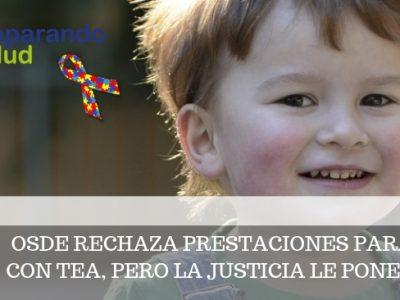 OSDE RECHAZA PRESTACIONES PARA NIÑA CON TEA, PERO LA JUSTICIA LE PONE FRENO