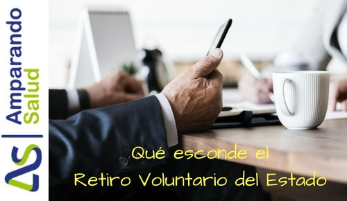 retiro voluntario del estado