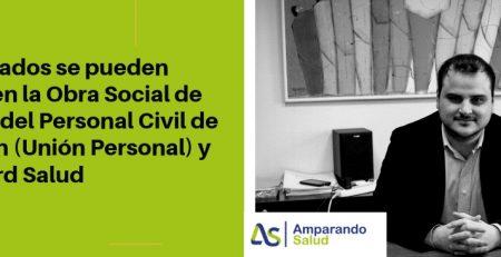 Los jubilados se pueden quedar en la Obra Social de la Unión del Personal Civil de la Nación (Unión Personal) y en Accord Salud