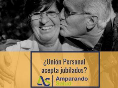 union personal acepta jubilados